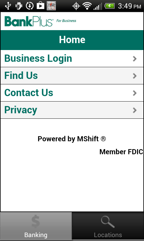 BankPlus2Go for Business- screenshot