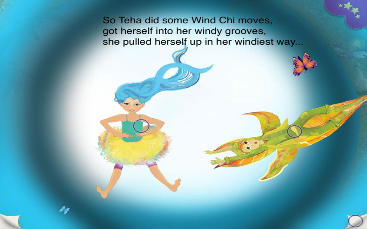 Teha : Helps Little Leaf Fly - screenshot