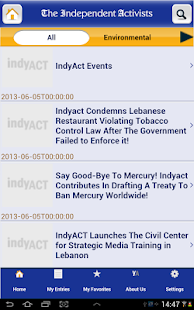 IndyAct- screenshot thumbnail