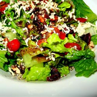 Blue Cheese and Dried Cranberry Tossed Salad.