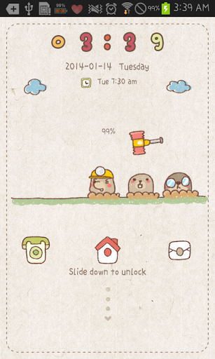 Mole game go locker theme