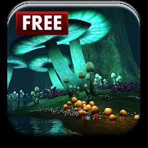 Magic Mushroom Live Wallpaper