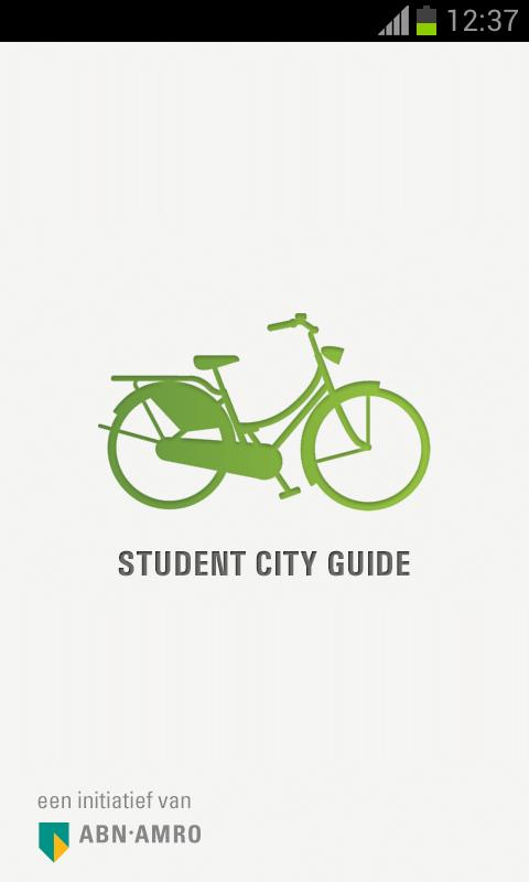 Student City Guide- screenshot