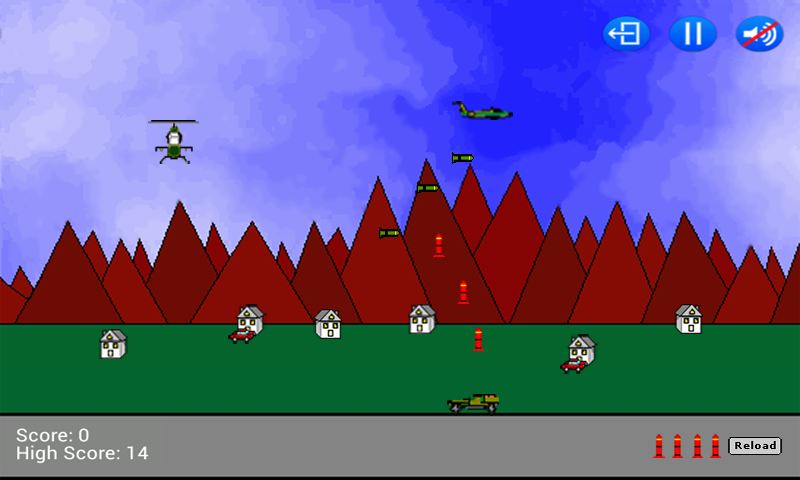 Air Defense- screenshot