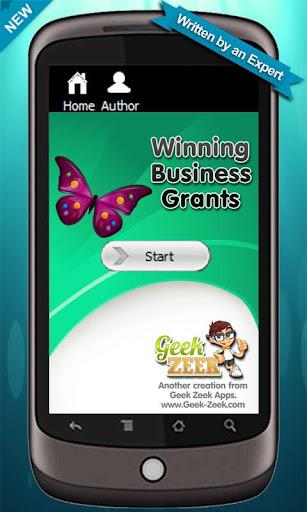 Winning Business Grants