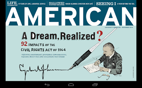 American magazine- screenshot thumbnail