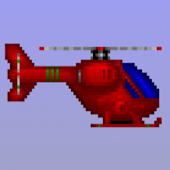 Flying Helicopter