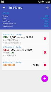 My SGX (Singapore Exchange) - náhled