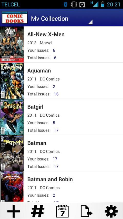 Comic Books Collector VE- screenshot