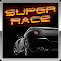 Super race – online logo