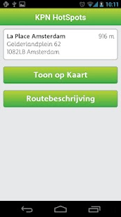 KPN HotSpots - screenshot thumbnail