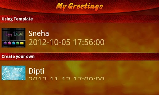 Diwali Greetings - screenshot thumbnail