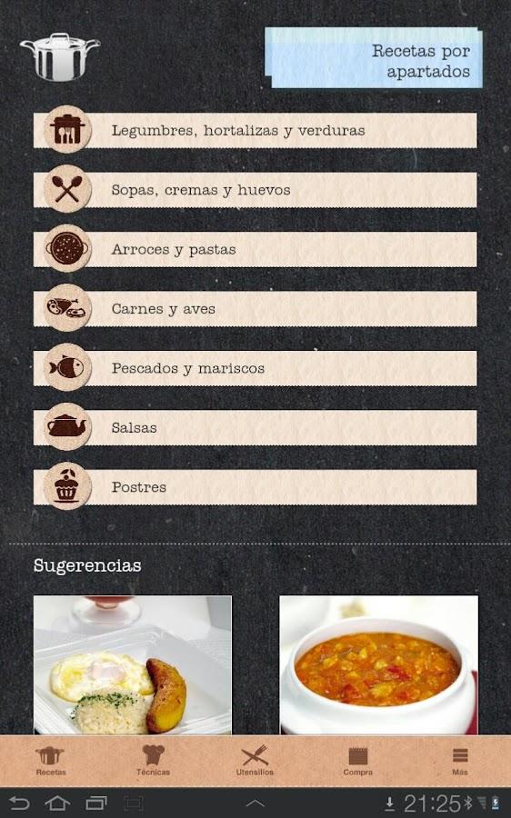 Atr vete a cocinar android apps on google play - Atrevete a cocinar ...