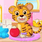 Baby Tiger Doctor Vet Care