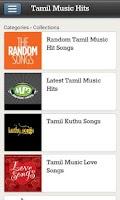 Screenshot of Tamil Music Hits