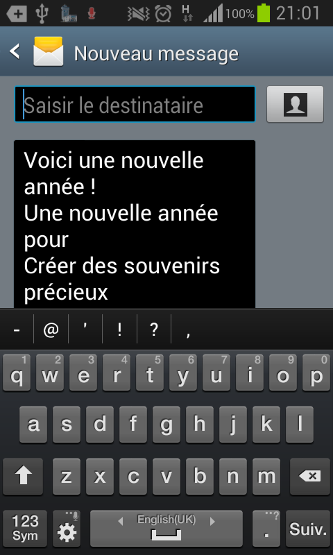 SMS Bonne Annee - Android Apps on Google Play