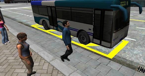 3D City driving - Bus Parking