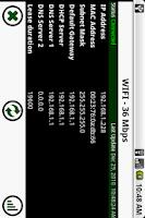 Screenshot of ifconfig