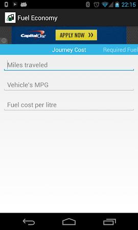 Fuel Economy 1.3 screenshot 2038144