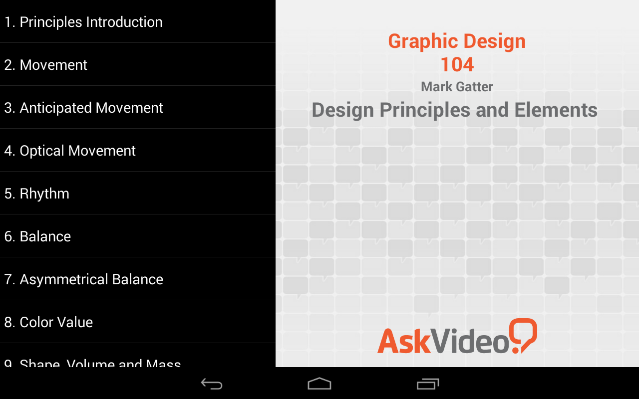Graphic Design Elements And Principles : Design principles and elements android apps on google play