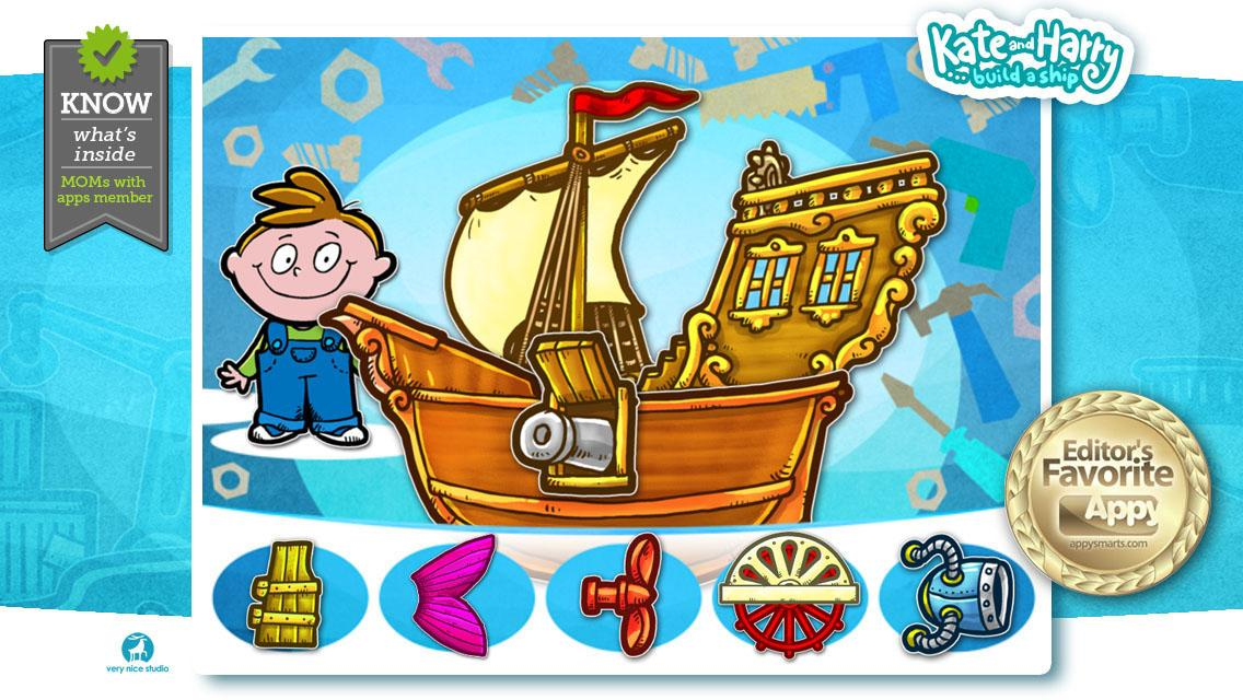 Build a Ship with Kate & Harry- screenshot