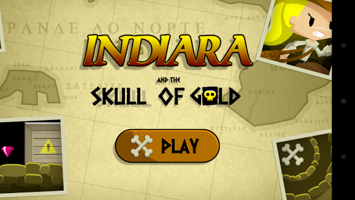 Indiara and the Skull of Gold