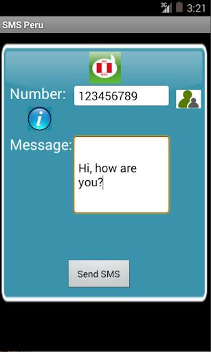 Free SMS Peru
