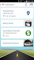 Screenshot of AAA Mobile