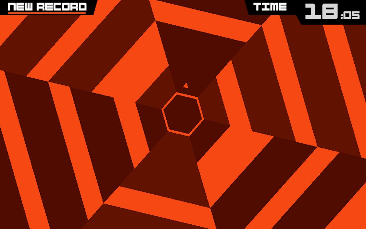 Super Hexagon- screenshot