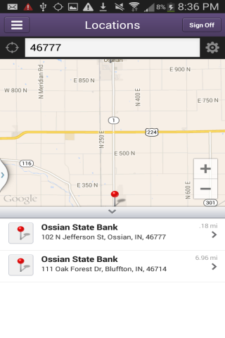 Ossian State Bank - screenshot