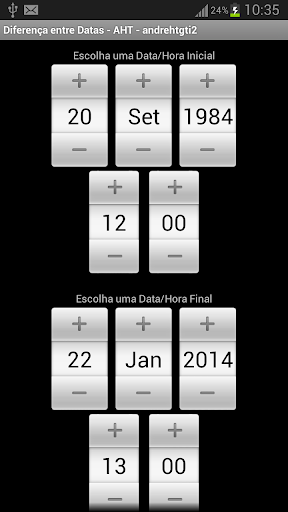 Difference Between Dates FULL