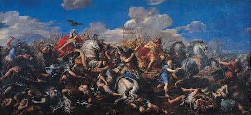 Battle of Alexander versus Darius