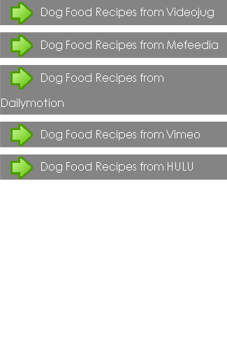 Dog Food Recipes Guides