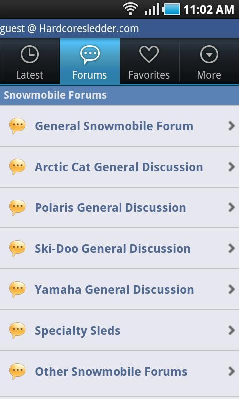 SnowMobile.Com Free - screenshot