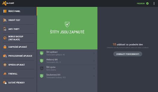 Antivir a ochrana mobilu - screenshot thumbnail