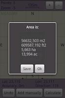 Screenshot of Area Calculator Free