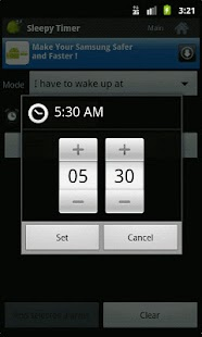 SleepyTimer Bedtime Calculator- screenshot thumbnail