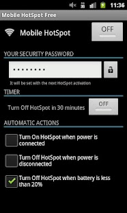 Mobile HotSpot Free- screenshot thumbnail