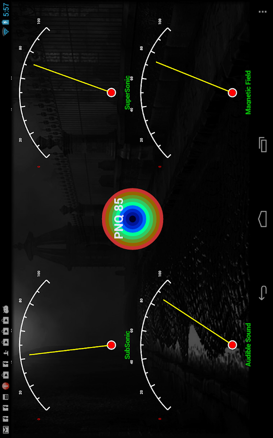 Ghostroid Paranormal Detector - screenshot