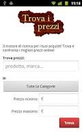 Screenshot of Trova i prezzi Full
