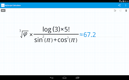 MyScript Calculator Screenshot 22