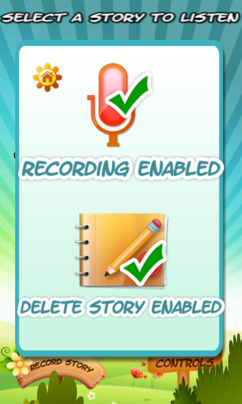 'Read to me story for kids'- screenshot