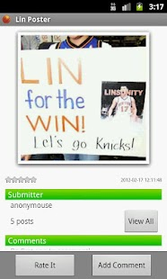 Lin Poster - screenshot thumbnail