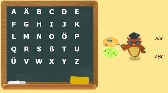 Deutsches Alphabet Screenshot 2