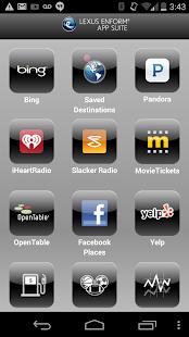 Lexus Enform App Suite - screenshot thumbnail