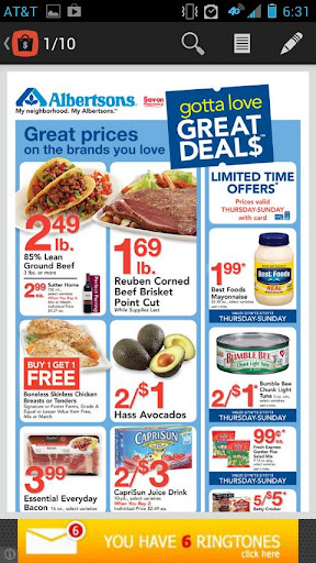 Weekly Ads Coupons Deals
