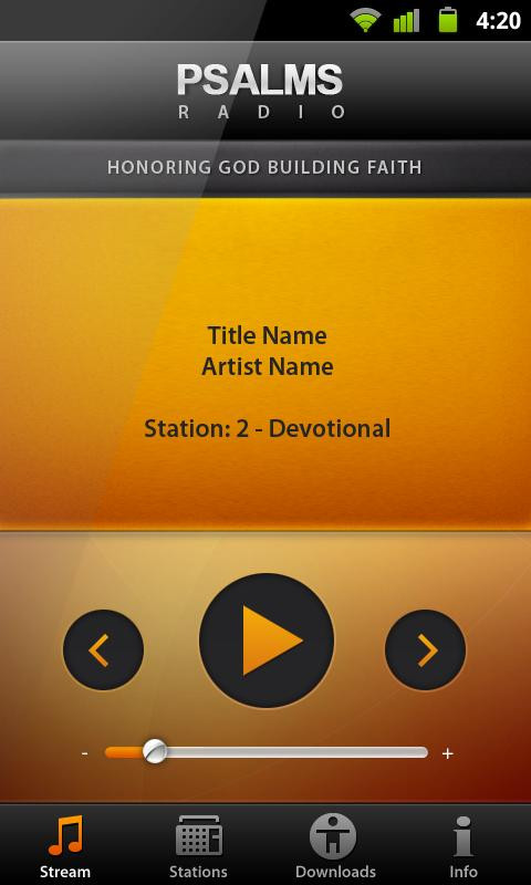 PSALMS RADIO - Malayalam- screenshot
