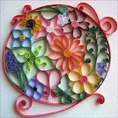 Quilling. Handmade gift & card