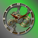 Steampunk Analog Clock Widget logo