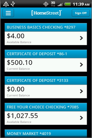 HomeStreet Mobile Banking